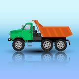 Caminhão de caminhão basculante Foto de Stock