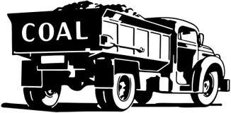 Caminhão de carvão ilustração do vetor