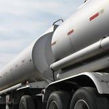 Caminhão de combustível fotos de stock royalty free