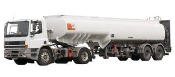 Caminhão de combustível Fotografia de Stock