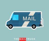 Caminhão de correio ilustração stock