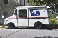 Caminhão de correio dos E.U. foto de stock royalty free