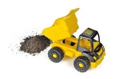 Caminhão de descarga do brinquedo Fotos de Stock Royalty Free