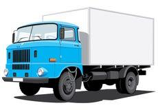 Caminhão de entrega ilustração stock