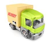 Caminhão de entrega Foto de Stock Royalty Free