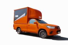 Caminhão de entrega, camionete logístico do recipiente ilustração do vetor