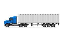 Caminhão de entrega da carga Imagens de Stock