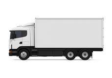 Caminhão de entrega da carga ilustração do vetor