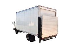 Caminhão de entrega isolado foto de stock royalty free