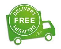Caminhão de entrega livre Fotografia de Stock