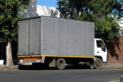 Caminhão de entrega pequeno Fotografia de Stock
