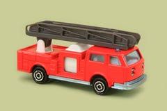 Caminhão de escada aérea imagens de stock
