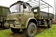 Caminhão de exército Imagens de Stock Royalty Free