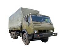 Caminhão de exército Fotografia de Stock Royalty Free
