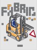 Caminhão de Fabbrick Imagens de Stock