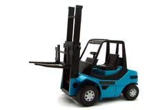 Caminhão de Forklift fotografia de stock royalty free