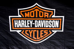Caminhão de Harley Davidson Buell em Genoa Imagens de Stock