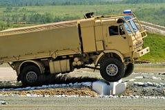 Caminhão de Kamaz Fotos de Stock Royalty Free