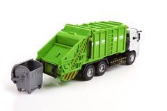 Caminhão de lixo Imagem de Stock Royalty Free