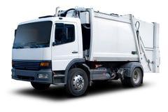 Caminhão de lixo Imagens de Stock Royalty Free