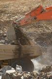 Caminhão de mina da carga Fotos de Stock Royalty Free