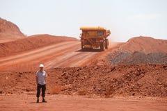 Caminhão de mineração Fotografia de Stock