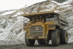Caminhão de mineração fotos de stock