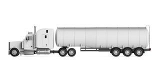 Caminhão de petroleiro do combustível ilustração royalty free