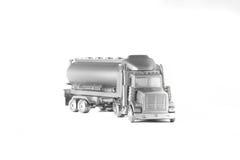 Caminhão de prata Imagem de Stock Royalty Free
