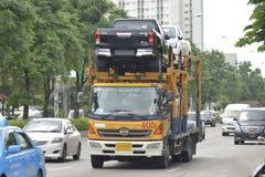 Caminhão de reboque, carros, caminhões Foto de Stock
