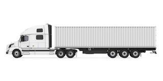Caminhão de reboque isolado ilustração stock