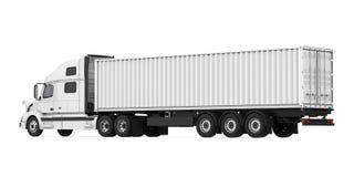 Caminhão de reboque isolado ilustração do vetor