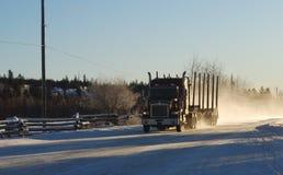Caminhão de registo Foto de Stock Royalty Free