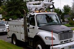 Caminhão de serviço público Foto de Stock Royalty Free