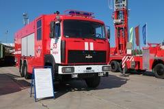 Caminhão de tanque do fogo Imagens de Stock Royalty Free