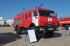 Caminhão de tanque do incêndio Fotos de Stock Royalty Free
