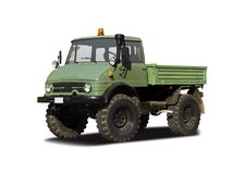 Caminhão de Unimog Imagem de Stock