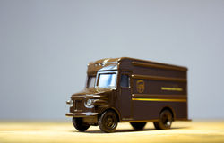 Caminhão de UPS Fotografia de Stock Royalty Free