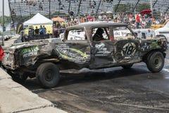 Caminhão destruído Imagem de Stock Royalty Free