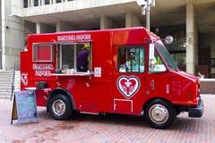 Caminhão do amor de Lobsta Imagens de Stock