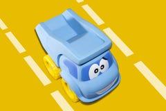 Caminhão do brinquedo dos desenhos animados Imagens de Stock