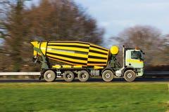 Caminhão do cimento Foto de Stock