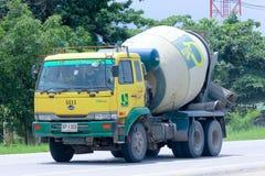 Caminhão do cimento de QMIX Foto de Stock