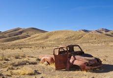 Caminhão do deserto imagens de stock royalty free