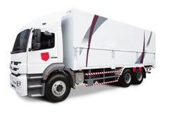 Caminhão do frete isolado Fotos de Stock