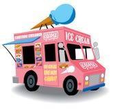 Caminhão do gelado Fotografia de Stock Royalty Free
