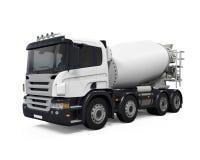 Caminhão do misturador concreto Imagem de Stock Royalty Free