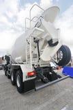 Caminhão do misturador concreto Fotografia de Stock Royalty Free