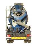 Caminhão do misturador de cimento imagens de stock royalty free