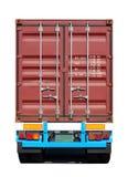Caminhão do recipiente Fotografia de Stock